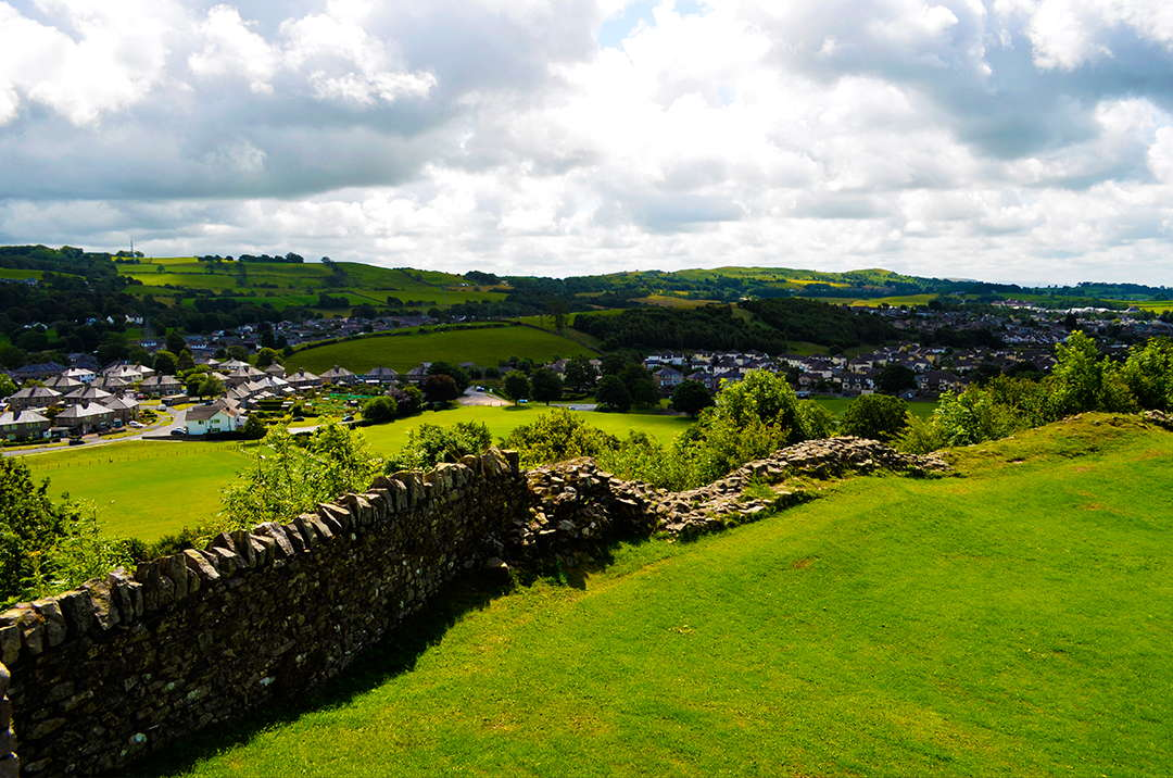 itinerario nel lake district kendal-castle