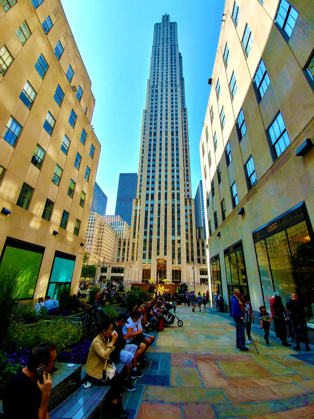 tour new york 3 giorni rockefeller