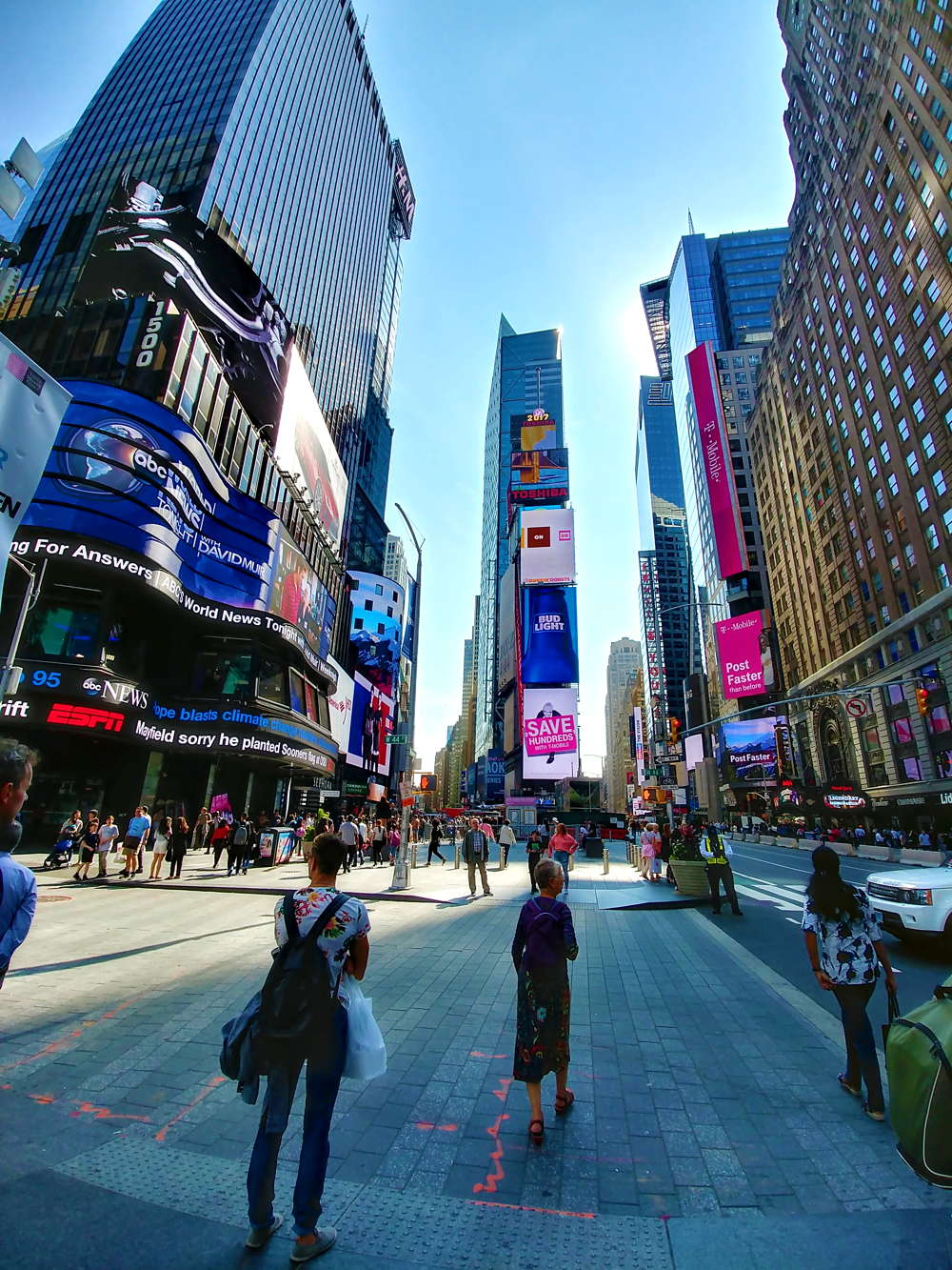tour new york 3 giorni times square