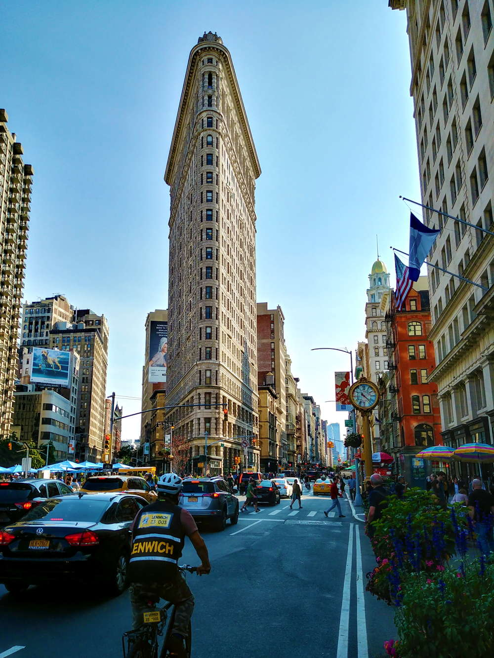 tour new york 3 giorni flatiron building