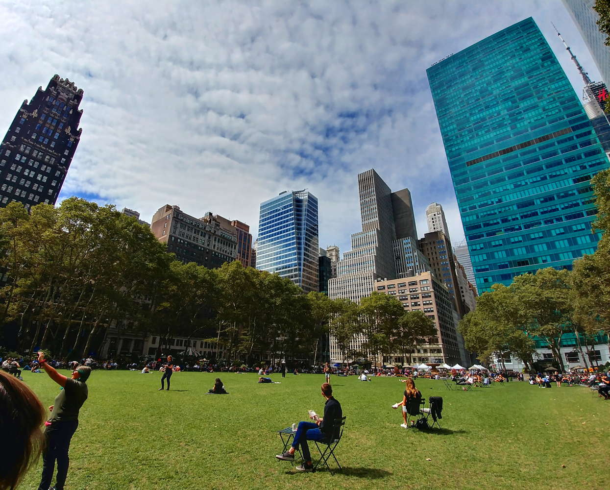 tour di new york in 3 giorni bryant park