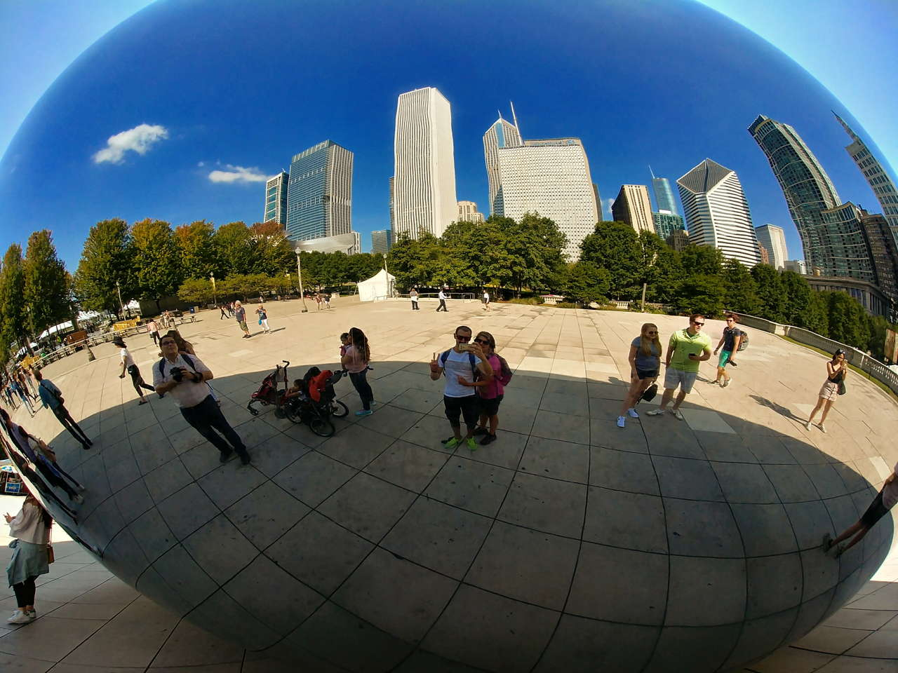sweet home chicago the bean